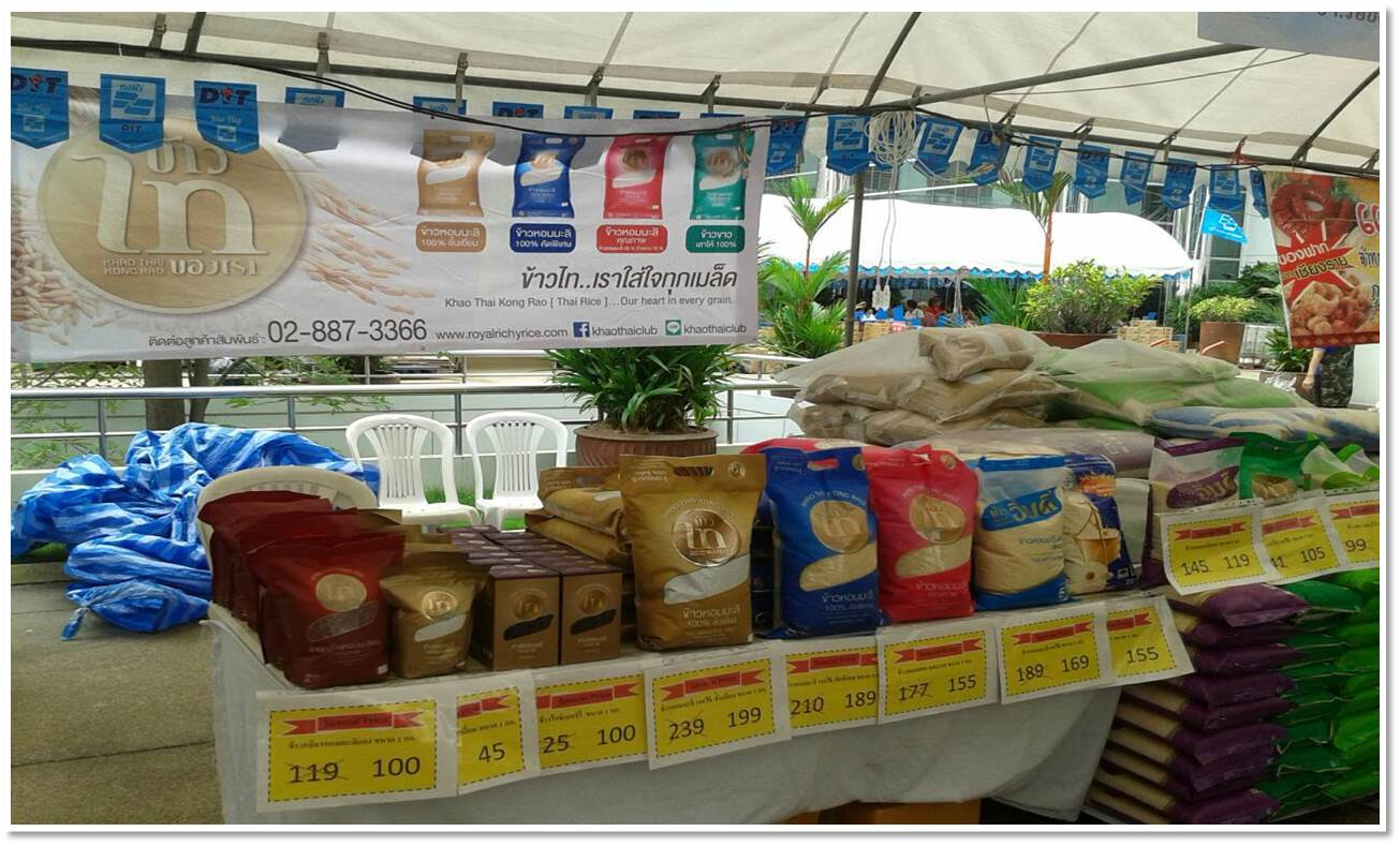 About Thailand and Vietnam Rice